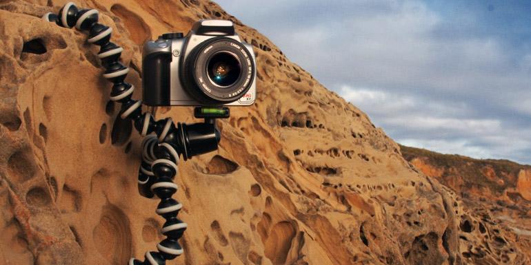 Le GorillaPod est un trépied photo pas cher et efficace